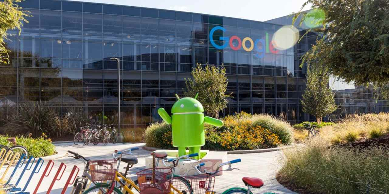 Googleplex, el campus de trabajo de Google en Silicon Valley
